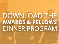 Awards Fellows Dinner Program